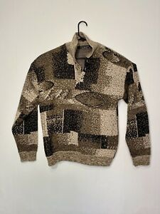 VTG-Protege-Collection-Herren-Pullover-COOGI-Bill-Cosby-Biggie-Style-Medium-USA-Hergestellt