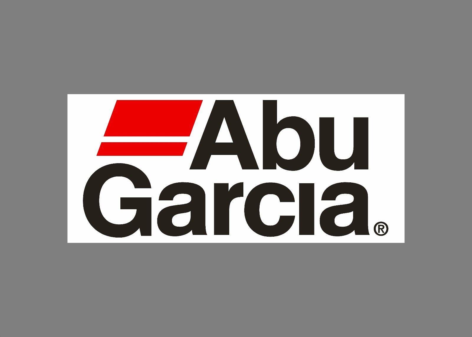 Abu Garcia decals stickers bass boat tournament sponsor fishing rod reel