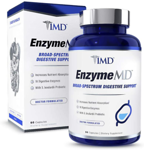 1MD EnzymeMD - Digestive Enzymes Supplement