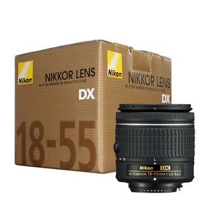 Nikon-18-55mm-f-3-5-5-6G-AF-P-DX-NIKKOR-Zoom-Lens-ORIGINAL-BOX