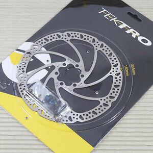 Tektro Bremsscheibe HD-M285 180mm 6-Loch silber NEU