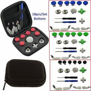 Bien Informé Poignée 18pcs/set Boutons Remplacement Kit Pour Xbox One Elite/ps4/switch Controller-afficher Le Titre D'origine