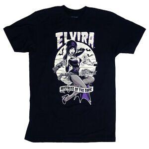 Kreepsville-666-Elvira-80s-Gothic-Horror-Monster-Hands-Mens-Black-T-Shirt-Size-S