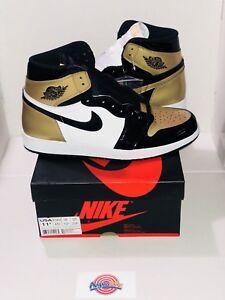 2fc04469c2b22a Air Jordan 1 Retro High OG Gold Top 3 Complexcon 861428-001 Size ...
