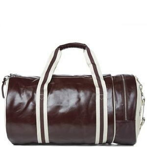 Image Is Loading Fred Perry Classic Duffle Barrel Gym Bag Travel