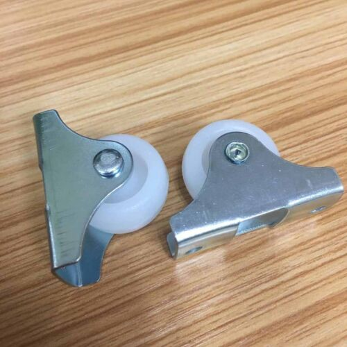 2 Pcs 1 inch Small Swivel Caster Wheel robot platform project Fixed Metal Plate