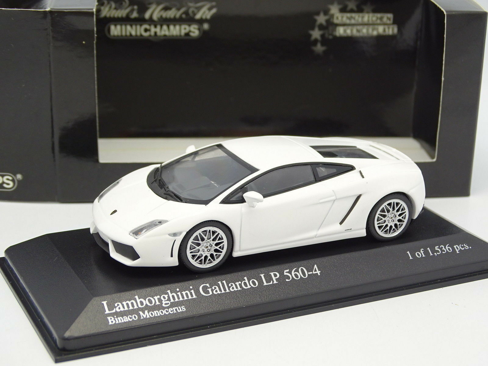 Minichamps 1 43 - Lamborghini Gallardo LP560-4 blancohe