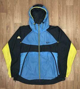 Vintage-90s-NIKE-Mens-ACG-Windbreaker-Jacket-ALL-CONDITIONS-GEAR-Large-Blue