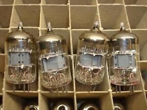 12 PC BULK NOS TUBE 12  x ECF200 = 6X9 TESLA RCES16