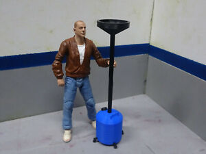 Oil-Drain-Dolly-Blue-1-10-Scale-Shop-Action-Figure-Crawler-Dollhouse-Diorama
