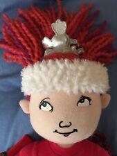 """Madame Alexander Doll  Fancy Nancy  Cloth 19"""" girl doll used"""