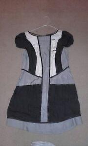 Formato seta zecca patchwork 12 del vestito di di nuovo xAzrAnq