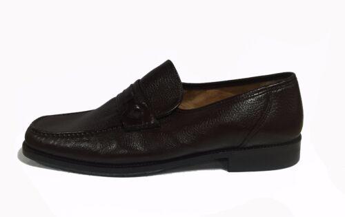 Pointure Cuir Chaussures Marron 46 Melluso Linea Mocassins Hommes T Mous 7FxI0qwC