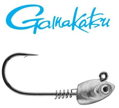 20 1//4oz SWIMBAIT JIGS WITH 5//0 GAMAKATSU HOOKS UNPAINTED
