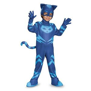 PJ-maschere-catboy-Deluxe-Bambino-Child-Glow-in-the-Dark-Costume-Travestimento-17159