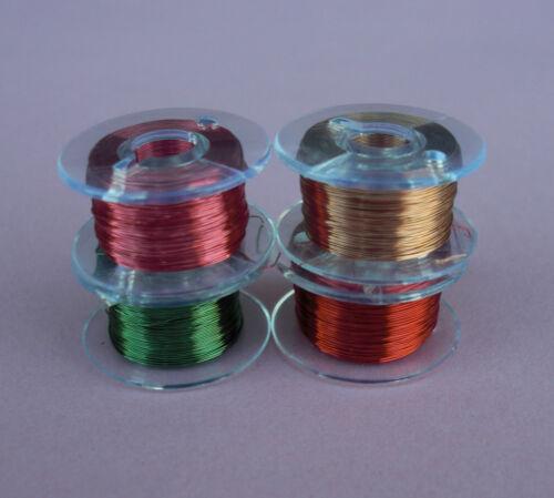 assortis pk 4 4 couleurs fil fil crayon 0,15 mm Rrp-a-105 émaillé fil