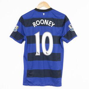 Manchester United 2011/2012 AWAY FOOTBALL SHIRT JERSEY NIKE #10 ROONEY S RARA