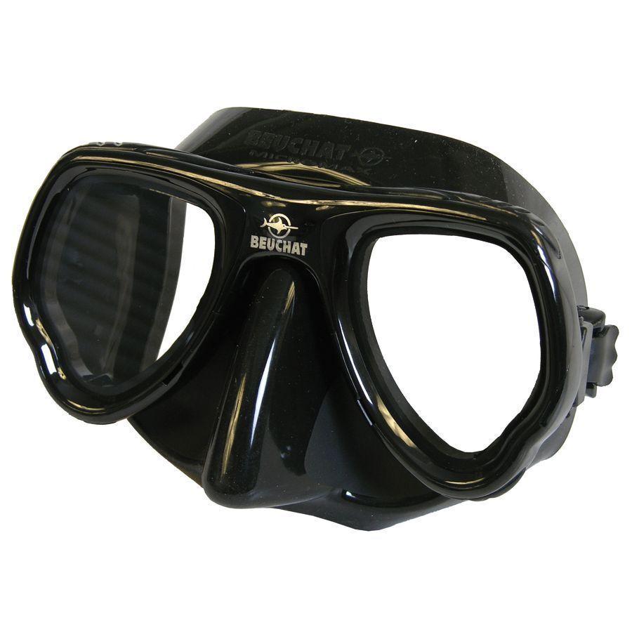 BEUCHAT Micromax Mirror Zweiglasmaske - entspiegelt - ideal für Apnoe Apnoe Apnoe & Tauchen dc439c