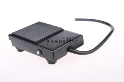 NEW 1PCS AC 220V 10 Amp NO NC Rubber Momentary Power Foot Pedal Switch