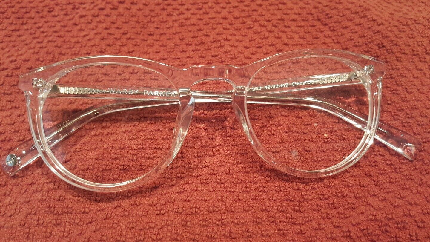 2cf1c57aac6 Warby Parker Haskell 500 Eyeglass Frames 49 22 145 for sale online ...