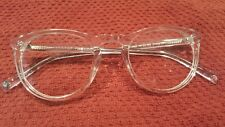 4fbefd6083 item 1 WARBY PARKER Haskell 500 Crystal eyeglass frames clear 49 22 145 New  -WARBY PARKER Haskell 500 Crystal eyeglass frames clear 49 22 145 New