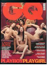 GQ ITALIA 20 MAGGIO 2001 PENELOPE CRUZ JUDE LAW KATE HUDSON IRENE GRANDI