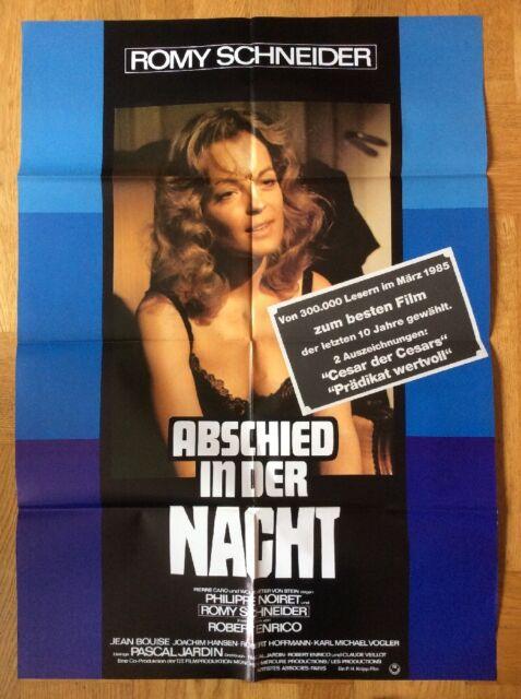 Abschied in der Nacht (Kinoplakat ´75) - Romy Schneider / Philippe Noiret