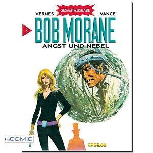 Bob-Morane-Gesamtausgabe-3-Angst-und-Nebel-SCIENCE-FICTION-franko-COMIC-60er