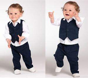 baby kleinkind junge formell hochzeit festlich anzug hemd. Black Bedroom Furniture Sets. Home Design Ideas