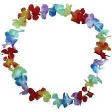 100 Stück Blumenkette Blumenketten Hawaiikette Hawaii Blumen Ketten Farbverlauf
