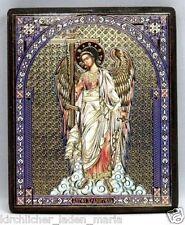 Ikone Schutzengel geweiht Holzplatte икона Ангел хранитель освящена 12x10x1,8 cm