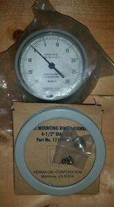Image is loading New-Compound-Pressure-Vacuum-Gauge-Gage-SA243CBFLWBX-MIL-
