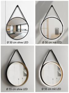 Led Wandspiegel Mit Beleuchtung Spiegel Rund Talos Badspiegel Bad