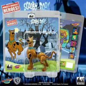 HANNA-BARBERA-SCOOBY-DOO-Cartoon-Scooby-Doo-8-inch-retro-action-figure-new