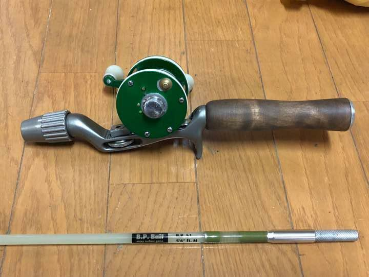ABU Ambassadeur 2600 Vintage Fishing Casting Reel Glass Eye