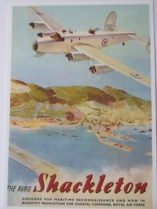 Pack of 15 New Vintage Ad Gallery Postcards  No 23 Avro Shackleton 1951 - Cheltenham, United Kingdom - Pack of 15 New Vintage Ad Gallery Postcards  No 23 Avro Shackleton 1951 - Cheltenham, United Kingdom