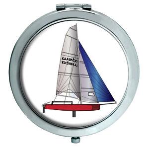 Laser-Dinghy-Compact-Mirror
