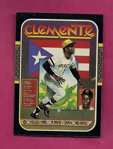 1987-DONRUSS-612-PIRATES-ROBERTO-CLEMENTE-NRMT-CARD-INV-A2001
