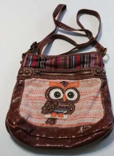 Own Strap And Leather PurseAdjustable Faux Brown Orange CdrexBo