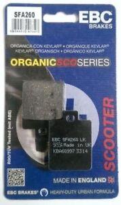 VESPA-LX150-2005-TO-2013-EBC-Organic-PASTILLAS-DE-FRENO-DISCO-DELANTERO