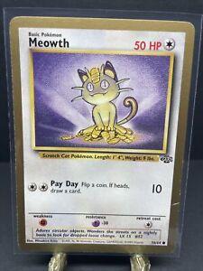 Meowth GOLD BORDER PROMO 56/64 RARE Jungle Pokemon Card