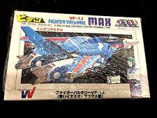 Macross VF-1J Fighter Valkyrie MAX Blue 1/200 Pitaban Kit Vintage NEW Robotech