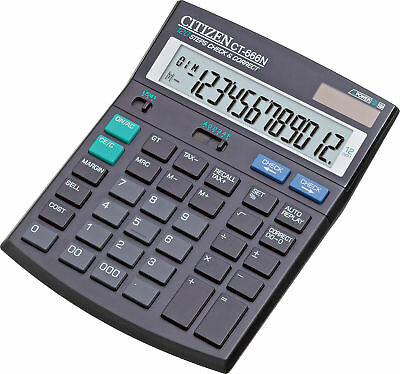 Citizen CT-666N Calculator for Home & Office Best Quality