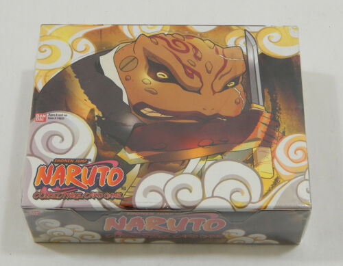 Naruto Approaching Wind TCG CCG Booster Box 24 Packs 10 Cards Per Pack