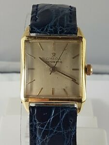 Omega 18k gold  men's watch , Automatic , nice collector watch , working !