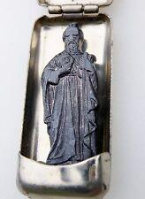 Vintage St. Thaddaeus Jude Soldier's Pocket Shrine tin Case Military