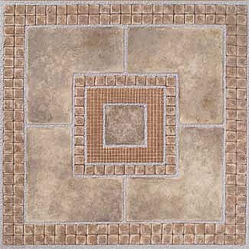 Stone Vinyl Floor Tile 36 Pcs Self Adhesive Flooring - Actual 12'' x 12''