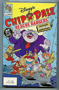 Disney's Comics Chip and Dale #1 Rescue Rangers nm/m New 1990 Comic H33/20