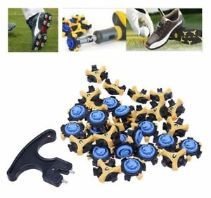 US-30PCs-Golf-Shoe-Spikes-Champ-Cleat-Fast-Twist-Tri-Lok-Sports-for-Footjoy