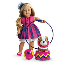 "American Girl MY AG TALENT SHOW SET for 18"" Dolls Dress Hula Hoop Retired NEW"